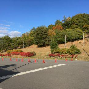 12月です。JCX第7戦広島中央森林公園 コースと出店情報